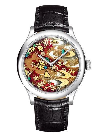梵克雅宝非凡表盘系列?日本彩漆腕表