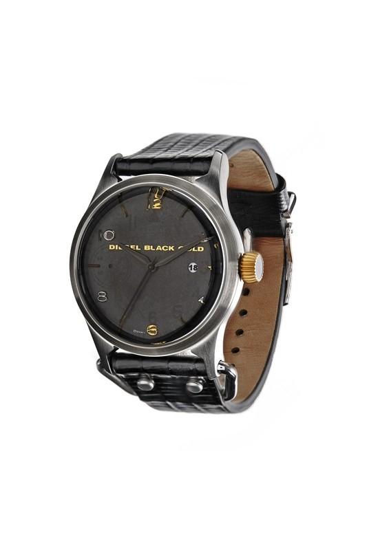 DIESEL BLACK GOLD推出首款腕表