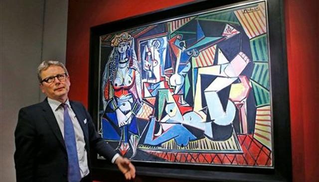 毕加索《阿尔及尔的女人(O)版》