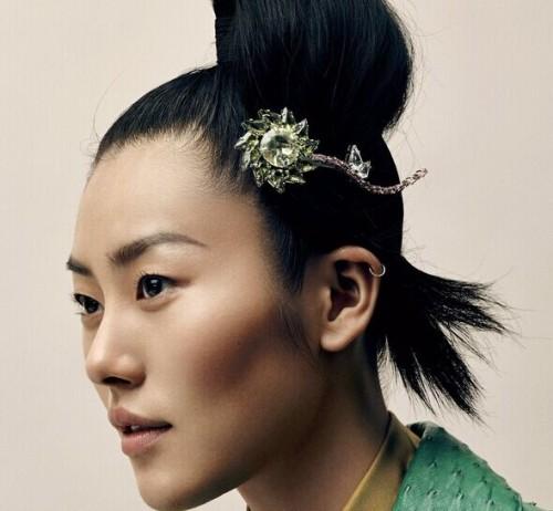 《Vogue》杂志美国版珠宝配饰主题大片 一众超模明星出镜演绎