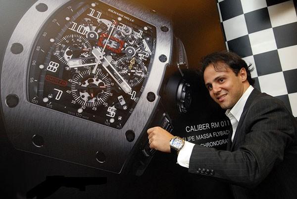 理查德·米勒推出Felipe Massa 10周年纪念版腕表 凝聚多项专利创新