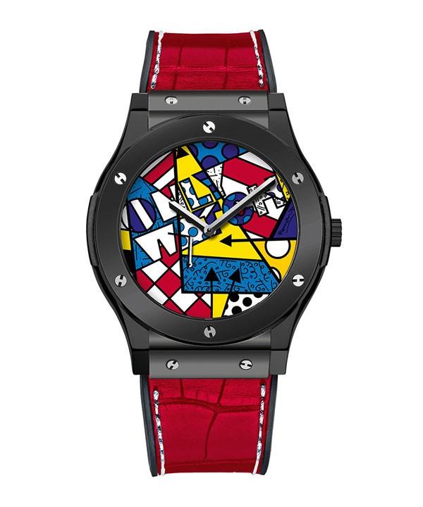 宇舶推出2015「Only Watch」珐琅布里托腕表
