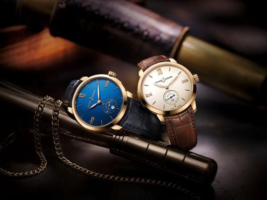 雅典表推出全新Classico鎏金腕表系列腕表