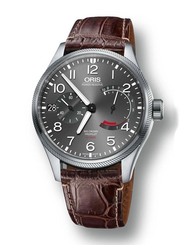 Oris 推出搭载Calibre 111机芯大表冠飞行员腕表