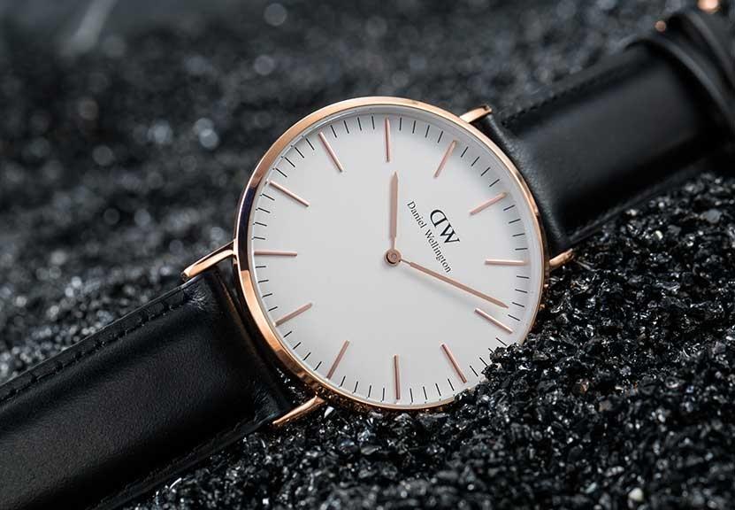 腕表品牌Daniel Wellington时尚大气,掀起绅士表款风潮