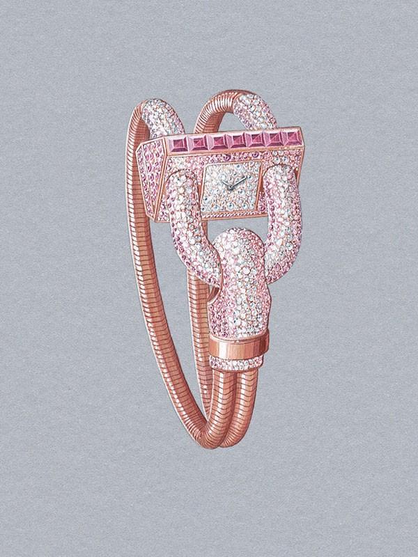 梵克雅宝Cadenas珠宝腕表 再续非凡传奇