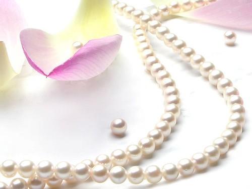 珍珠项链保健养生作用