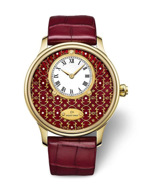 雅克德罗2015「Only Watch」金箔雕花腕表