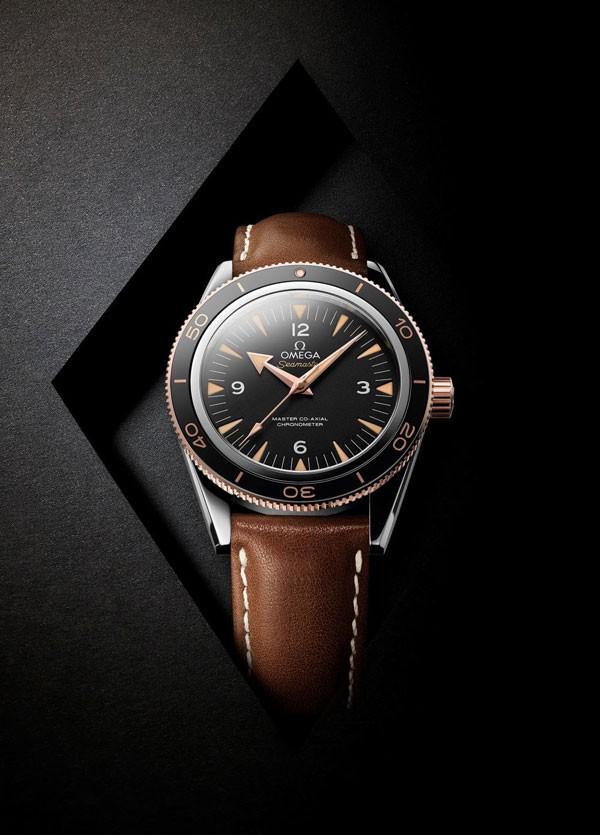 传承经典,非凡革新:欧米茄海马300腕表