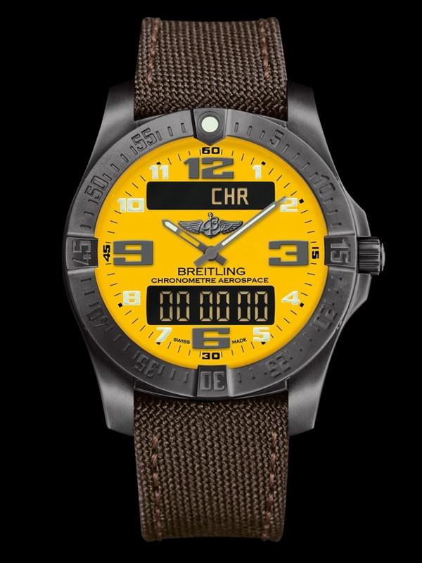 百年灵全新航天多功能进化夜间任务计时腕表