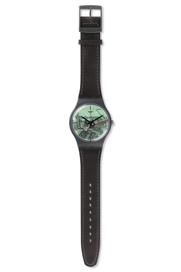 Swatch 推出马特洪峰运动特别款腕表