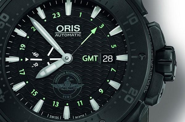 豪利时全新Force Recon GMT两地时腕表