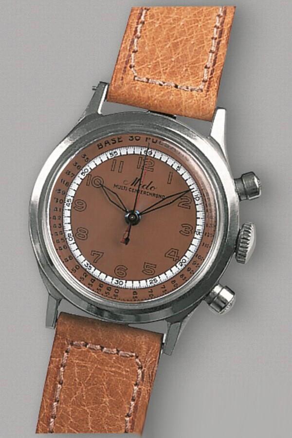 MIDO 先锋系列80周年推出三眼计时限量腕表