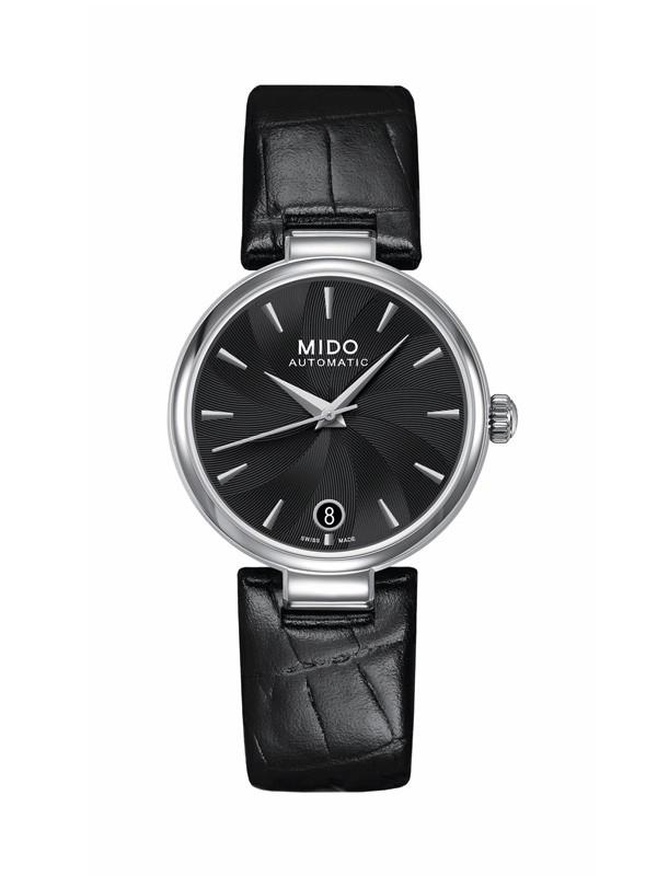 经典风潮 唯美腕间:瑞士美度表黑白色腕表