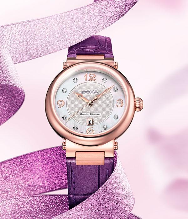 瑞士时度表的卡莱斯系列 冰莹珍珠闪亮悦目