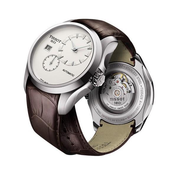 天梭推出全新Couturier自动小秒针腕表