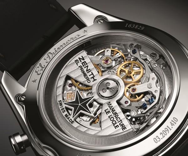 追寻传奇的足迹 真力时全新El Primero 410腕表