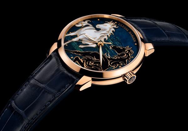 雅典表推出马年特别版「鎏金骐骥腕表」