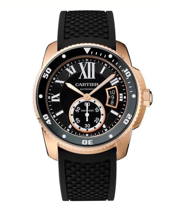卡地亚推出全新Calibre de Cartier 潜水腕表