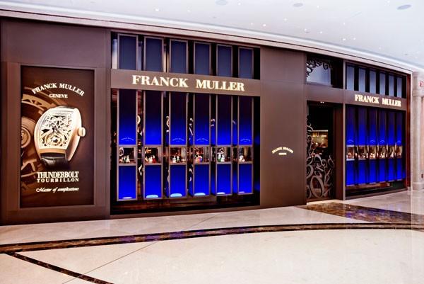 Franck Muller「时尚汇」专卖店完美演绎非凡创意