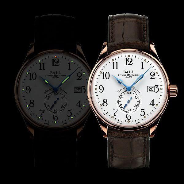 波尔表推出全新铁路长官系列标准时间腕表