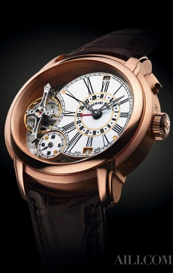 温暖雅致金制腕表 对金表的态度该变变了