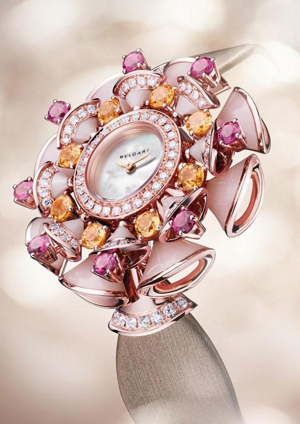 宝格丽推出全新Diva系列珠宝腕表
