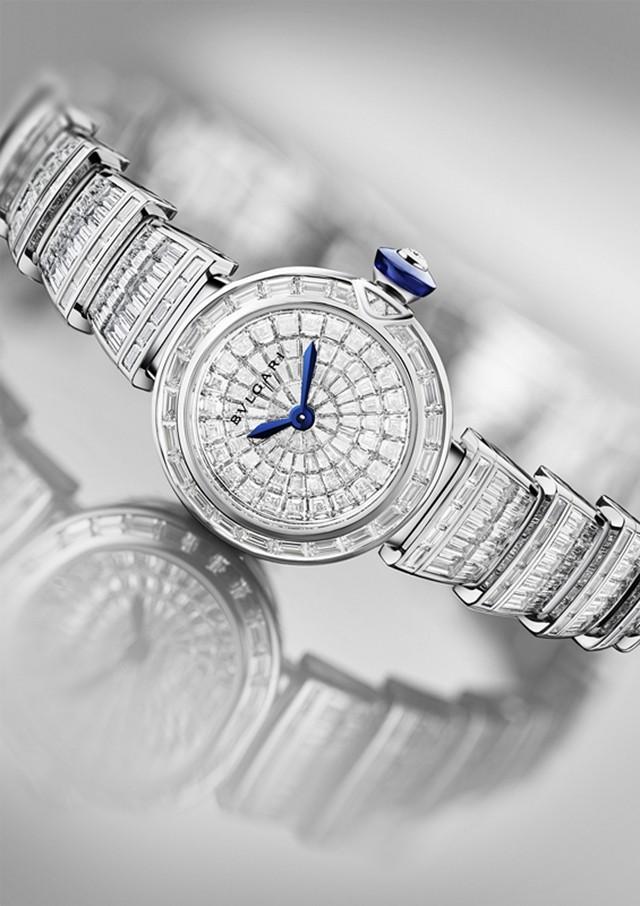 BVLGARI宝格丽LVCEA系列高级珠宝腕表
