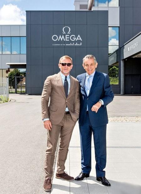 007到访欧米茄瑞士Villeret制表基地