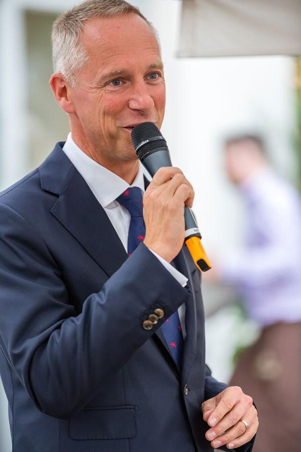 德国总理默克尔为朗格新建大楼揭幕