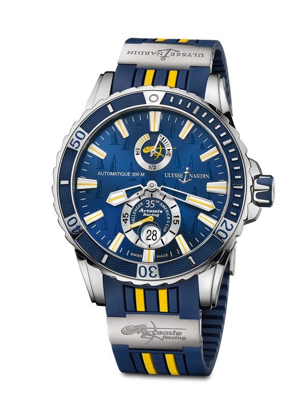 雅典表推出Artemis Racing航海潜水限量腕表