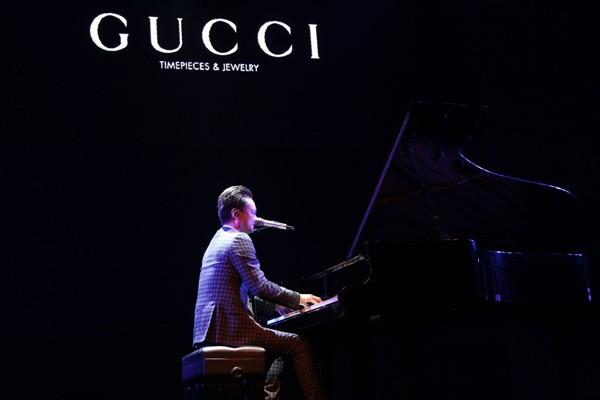 GUCCI腕表首饰支持中国才华横溢的年轻音乐人