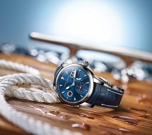 纪念摩纳哥游艇展25周年 雅典表特别推出双时区摩纳哥限量腕表