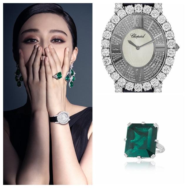 华美珠宝邂逅钟表技艺,珠宝化身为萧邦腕表