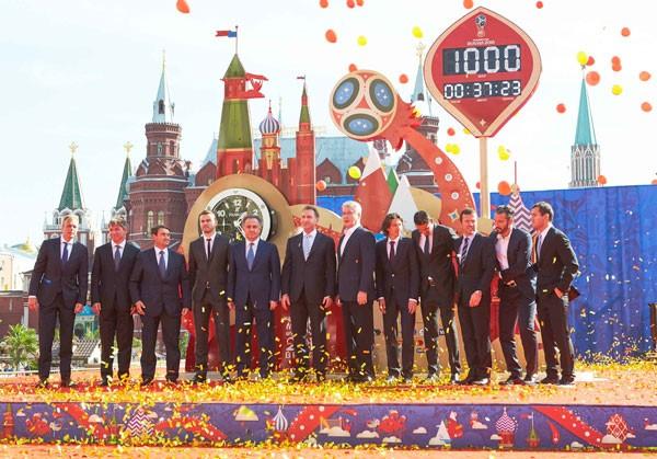 宇舶表为2018俄罗斯世界杯打造官方千日倒计时钟