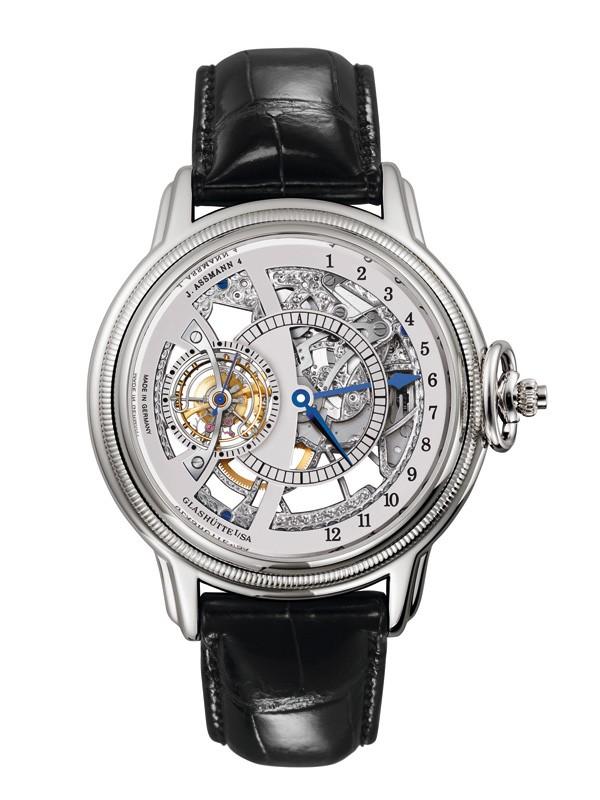 格拉苏蒂经典重现「Julius Assmann 4」腕表