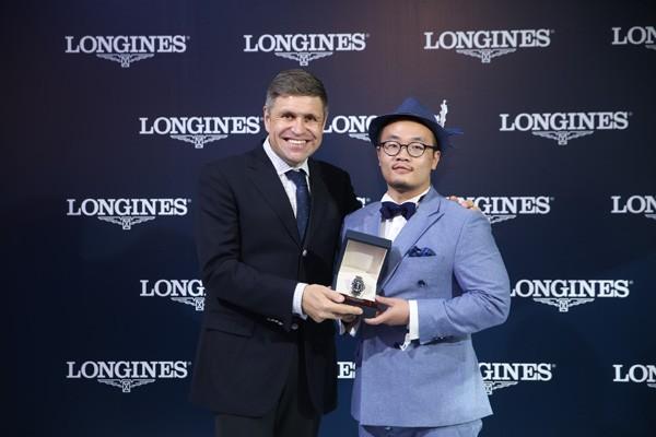 彭于晏倾情助力2015浪琴表北京国际马术大师赛