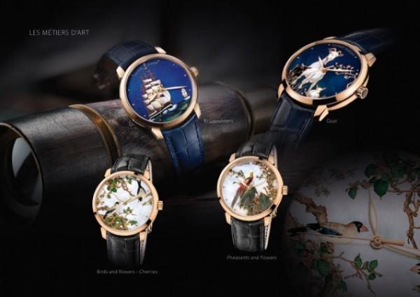 延续工艺美学 雅典表展示大师级彩绘腕表