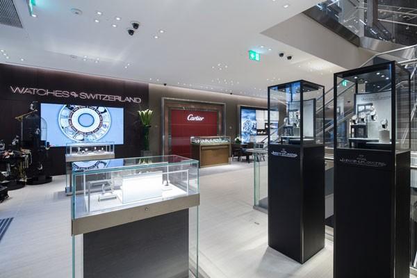 瑞士表行全新牛津街精品店正式揭幕