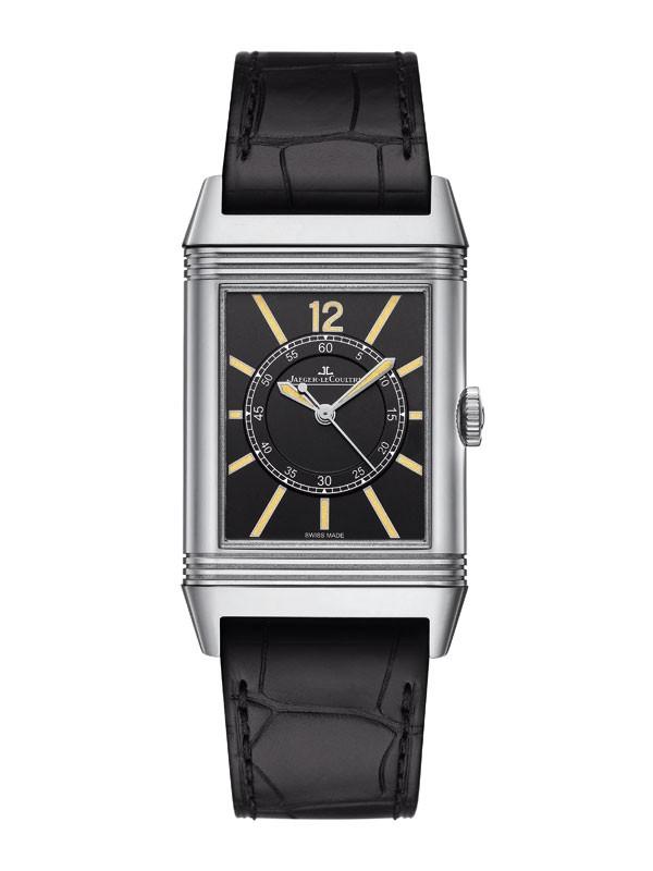 积家全新大型中央秒针翻转系列腕表