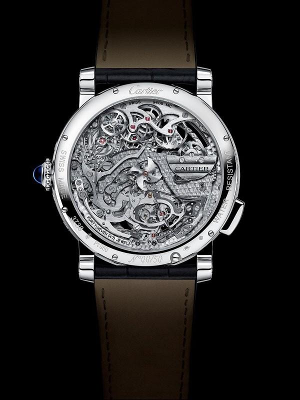 Cartier 卡地亚2015镂空腕表杰作精选