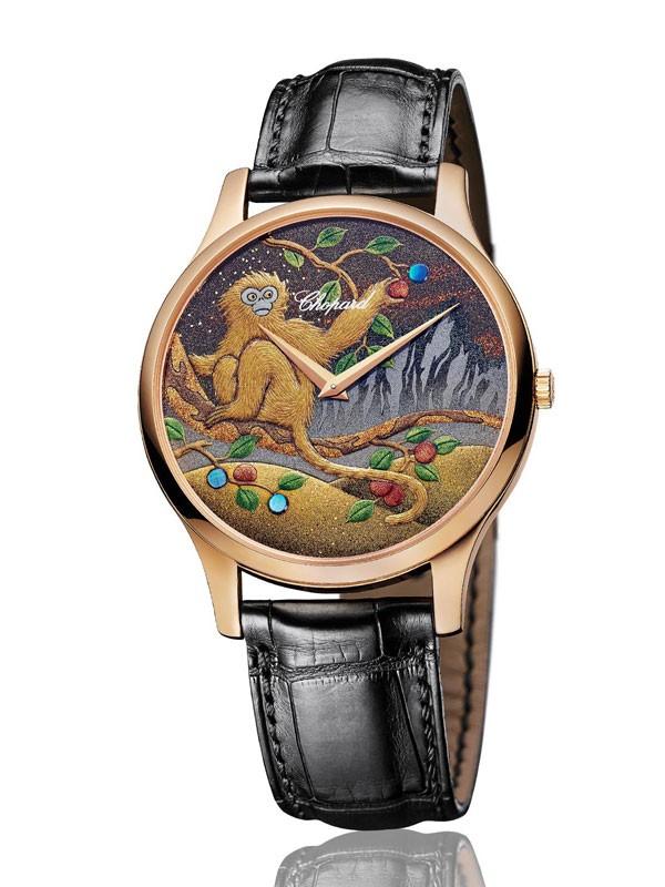 萧邦推出L.U.C XP「金猴」莳绘腕表