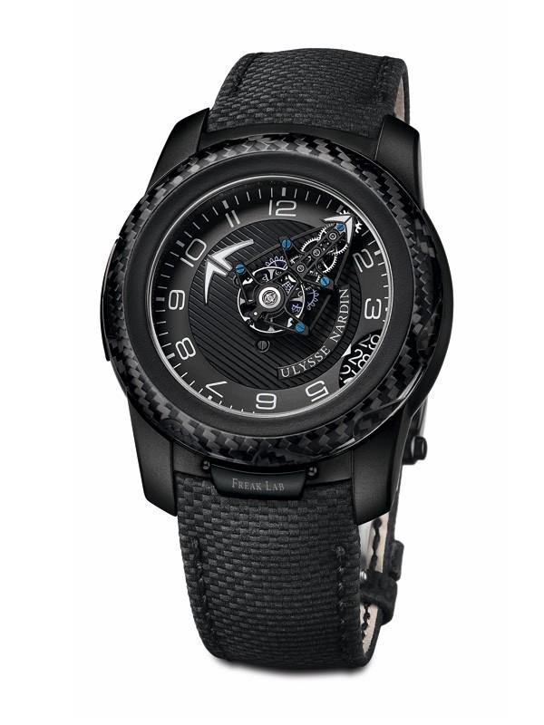 雅典推出全新FreakLab陀飞轮限量腕表