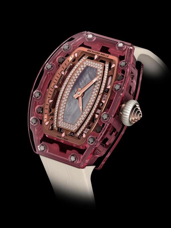 RM 07-02 Pink Lady 红粉佳人蓝宝石腕表 展现高端技术之机芯