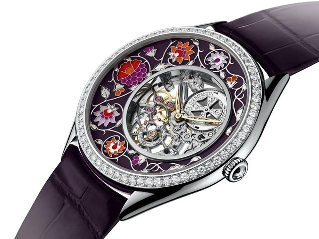 每日一毒 江诗丹顿艺术大师传奇装饰系列腕表