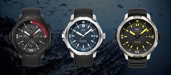 IWC万国表全新三款海洋时计潜水员腕表