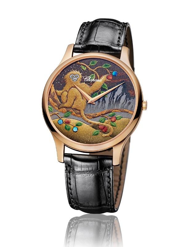2016萧邦金猴贺岁限量莳绘腕表