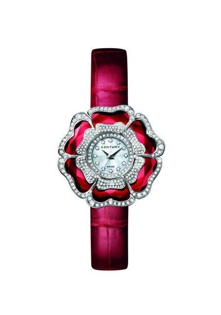世纪表献礼璀璨新年 展现珠宝气质的奢华腕表