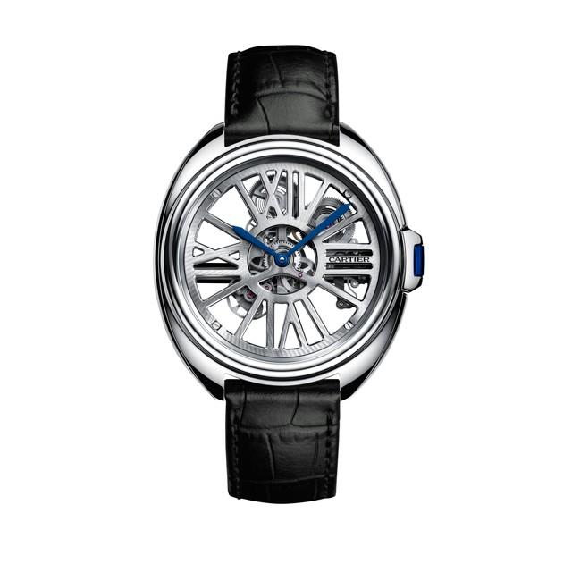 2016SIHH新品 卡地亚CLé DE CARTIER自动上链镂空腕表