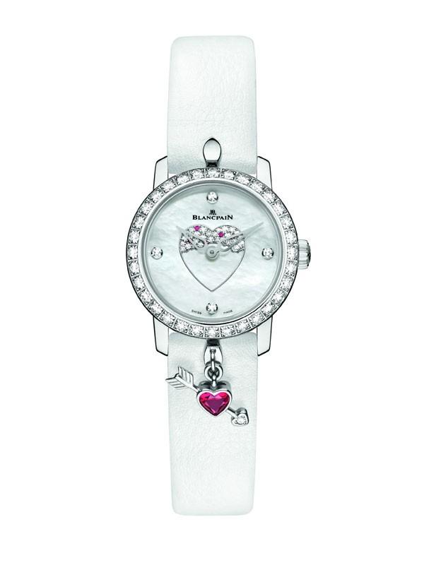 宝珀全新2016年度情人节限量腕表